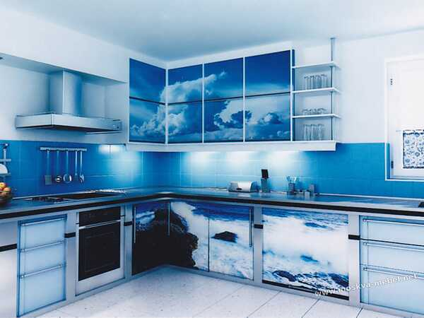 Фото-фасад для кухни