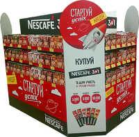 Рекламная стойка для Nescafe
