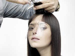 Защитный экран для парикмахерских