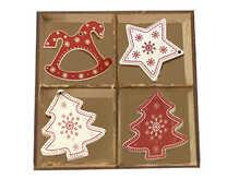 Новогодние украшения в подарочной коробке