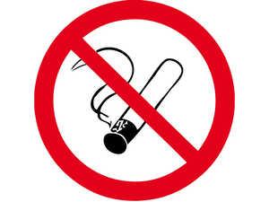 """Знак забороняючий """"Забороняється палити""""  D =250 мм."""