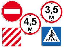 Наклейка на светоотражающей пленке 250х250